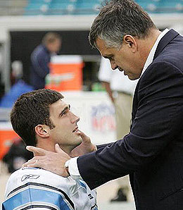 joey-harrington-matt-millen-detroit-lions-nfl-draft