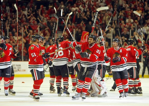 Chicago Blackhawks 2009 Stanley Cup Playoffs Western Conference Finals