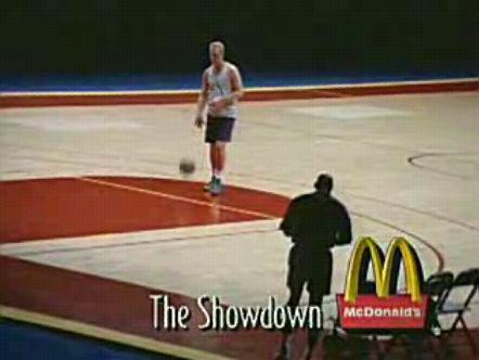 Michael Jordan Larry Bird McDonalds